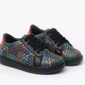 Boy Sneakers 5 years-7 years GG Inspired